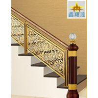 不锈钢楼梯立柱 不锈钢护栏立柱 香槟金不锈钢扶手