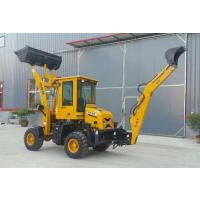 适合农民用的挖掘机 装载机 多功能挖掘机轮式挖掘机 两头忙