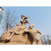 青城雕塑|玻璃钢|泥塑|白钢雕塑|人物|动物