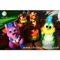 新型户外儿童游乐设备欢乐打地鼠 许昌创艺新型游乐设备