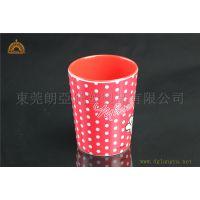东莞厂家订做美耐皿餐具/迪士尼杯子/仿瓷杯具/礼品杯子/儿童茶杯