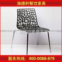 厂家供应 酒店餐厅户外餐椅 简约椅子 家用庭院休闲椅 不锈钢椅