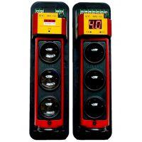 艾礼富电子湖南有售三光束250米红外对射报警设备