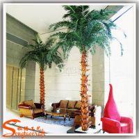 仿真棕榈树皮室内 装饰大型保鲜棕榈树 仿真植物 人造棕榈树皮