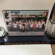 漳州同学聚会礼品,厦门校庆礼品,水晶聚会纪念品定制批发
