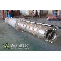 耐海水腐蚀潜水泵_防沙耐磨不锈钢潜水电泵_卧式耐酸碱排水泵