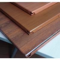 集成吊顶铝扣板 仿逼真木纹铝扣板 防腐蚀铝扣板