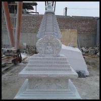 河南寺庙石佛塔|旺通雕塑|寺庙石佛塔雕刻厂