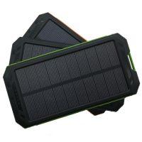 太阳能移动电源套料户外指南针充电宝带露营灯超薄聚合物SOS求救