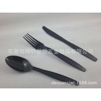 优价批发各尺寸西餐餐具 一次性透明塑料PS刀叉勺套装 专业品质