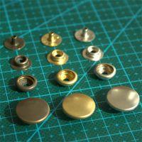 批发供应 正品日本YKK四合扣 DIY手工制作皮具箱包黄铜按扣纽扣