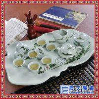 陶瓷茶具产品定做厂家礼品陶瓷茶具定做