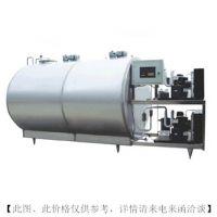 广州方联牛奶供应冷却罐 直冷式奶罐 304不锈钢卧式运输罐(可定制)