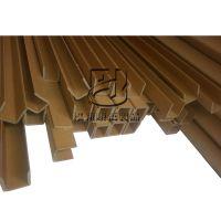 物流辅助器材纸箱护角批量销售 枣庄制作U型纸护角 打包专用