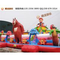 儿童玩具蹦蹦床多少钱?广场充气蹦蹦床利润怎么样?