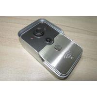 GLU WIFI可视化门铃 手机智能远程无线对讲 别墅电子猫眼监控 夜视防盗