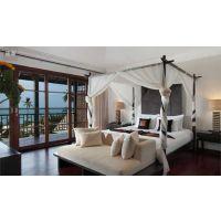 厂家供应高端酒店实木桌子椅子高端民宿酒店桌椅尺寸设计定做