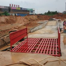 供应深圳工地全自动洗车机尺寸、渣土车清洗机价格 鸿安泰-235