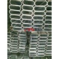 徐州镀锌带椭圆管便宜厂家 30*60*2.0可定尺