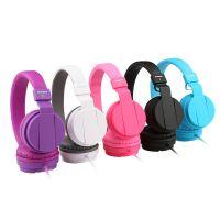 卡能IP950 手机耳机头戴式  单双孔耳麦一体带麦克风话筒支持批发