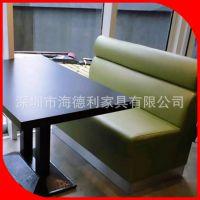 热卖 广东深圳厂家直销实木西餐桌 画布西餐厅实木餐桌 可定制