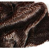 刺猬毛厂家直销人造毛皮绒布毛绒保暖布料皮草地毯布料慈溪毛绒