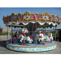转马游乐设备项目报价 豪华转马去哪买多少钱能买到 大人陪孩子玩的转马价格
