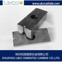 Tungsten carbide nail cutter dies for producing construction nails