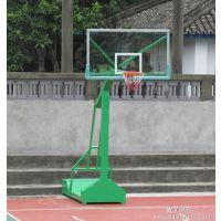 康腾厂家供应工厂专用室外移动式平箱凹箱篮球架