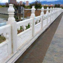 顺利石雕厂--供应石雕栏板。河道护栏,石栏杆。