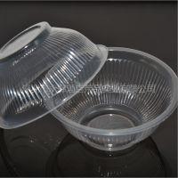 批发酒店一次性碗360ml一次性塑料碗餐厅餐具外卖打包碗PP打包盒
