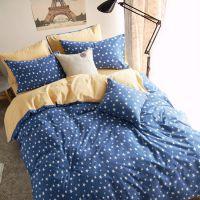 床上用品 全棉田园公主加厚磨毛四件套批发 纯棉小碎花套件代发货
