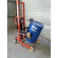 东莞镁丰供应COT0.35脚踏式油桶翻转车、油桶液压升高车