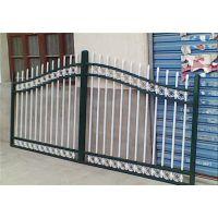 庭院工艺锌钢铁艺围栏、围墙铁艺护栏、欧式社区锌钢栏杆制作流程