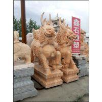 天津石麒麟、旺通雕塑、石麒麟雕塑价格