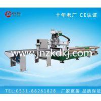 中科推荐高效率双工序加排钻数控开料机设备 开料机配置