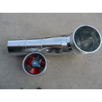 广东螺旋风管加工厂专业提供优质镀锌螺旋风管配件法兰