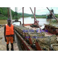 专业生产 水上漂选金机/ 非洲挖金船/ 东南亚 旱地选金设备/ 各种砂金开采设备