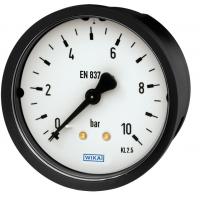 WIKA压力表111,用于测量不粘滞、不结晶、不腐蚀铜合金的气体及液体的介质