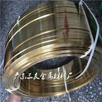 H65黄铜螺丝线超硬_半硬H62黄铜扁线东莞厂家