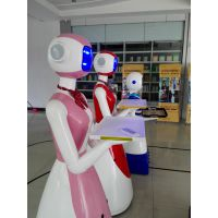 【卡伊瓦】送餐机器人迎宾机器人各类智能机器人厂家直销支持加盟租赁