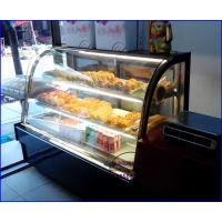 烘焙西饼屋展示冷藏柜,85度C蛋糕房保鲜柜,淮安欧式后开门糕点柜