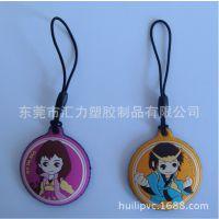 工厂直销PVC软胶手机擦挂件 日本卡通动漫PVC屏幕擦饰品广告礼品