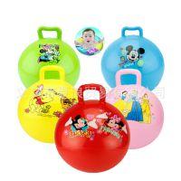 专业供应 儿童玩具充气手柄球 弹力球 现货批发