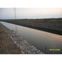 河堤护坡格宾网 水利工程河床防洪石笼网箱 高尔凡锌铝合金铅丝笼