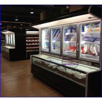 佳伯生鲜超市冷柜供应 金华雪糕低温展示柜 玻璃门冰淇淋冷冻柜定做