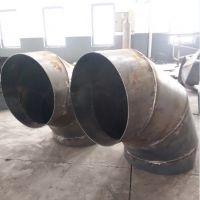 江苏废气用90度弯头排风系统螺旋风管连接件定做圆形焊接弯头