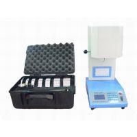 东莞九星供应 手动+自动切料塑胶熔融指数试验机、熔融指数仪
