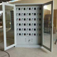28门平板电脑手机柜生产厂家 密码挂锁手机存放柜价格多少钱一台