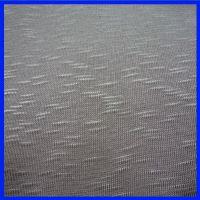 环保染色 品牌厂家生产针织色织竹节汗布 全涤竹节纱汗布B